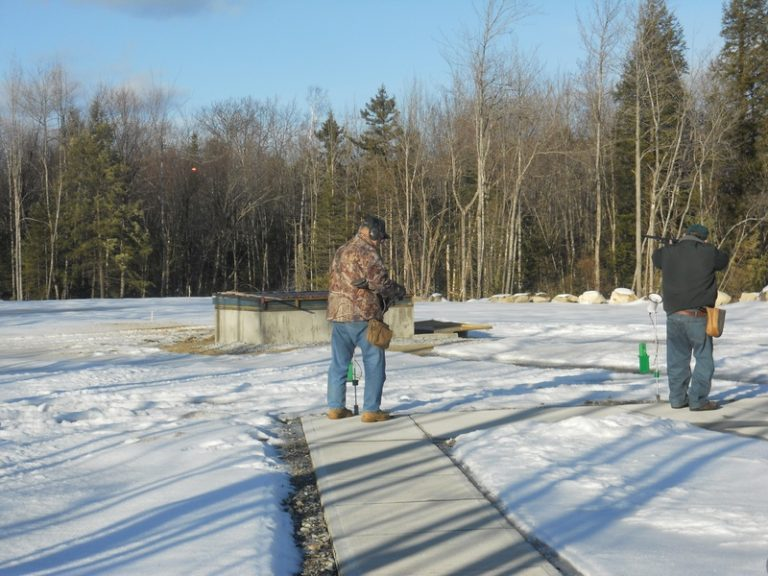 Trap Range is active in the winter too