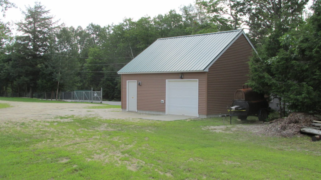 Our new storage building