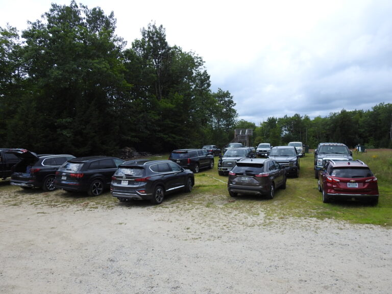 Parking lots were full for 2020 Summer Honey Classic